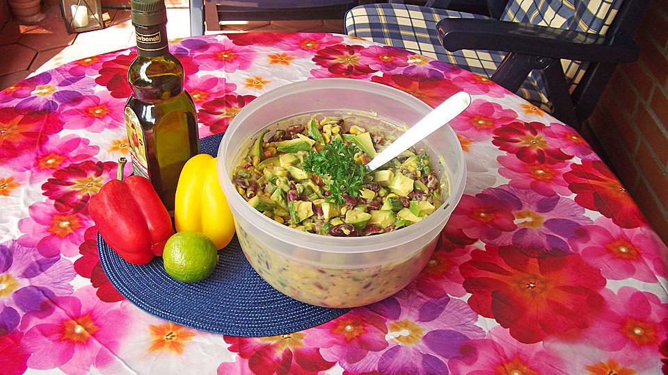 Mexikanischer Bohnensalat
