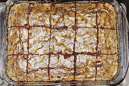 Maple Glazed Walnut Brownies 9