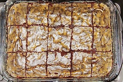 Maple Glazed Walnut Brownies 16