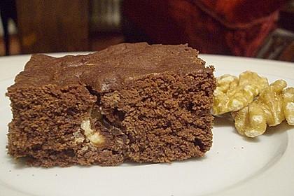Maple Glazed Walnut Brownies 2