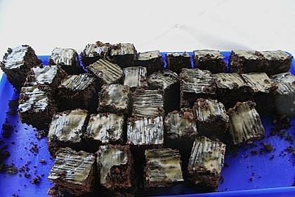 Maple Glazed Walnut Brownies 14