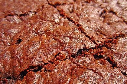 Maple Glazed Walnut Brownies 7