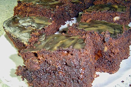 Maple Glazed Walnut Brownies 7