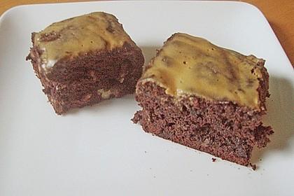Maple Glazed Walnut Brownies 6