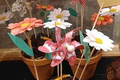 Schokokuchen in einem Blumentopf 3