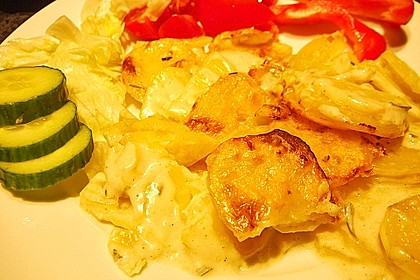 Das beste Kartoffelgratin 7