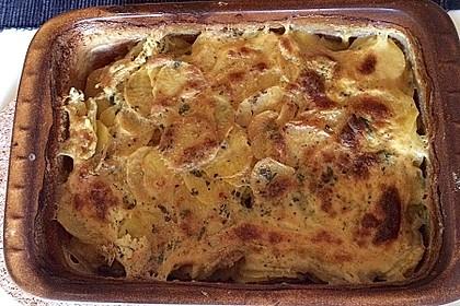 Das beste Kartoffelgratin 91