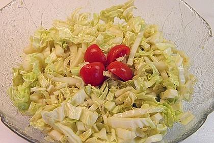 Scharfer Chinakohlsalat