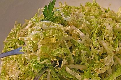 Scharfer Chinakohlsalat 4