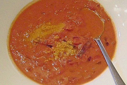 Cremige Tomatensuppe mit Kokosmilch 51