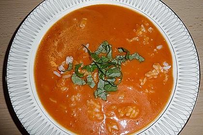 Cremige Tomatensuppe mit Kokosmilch 19
