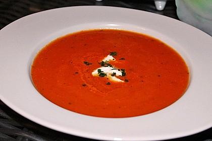 Cremige Tomatensuppe mit Kokosmilch 14