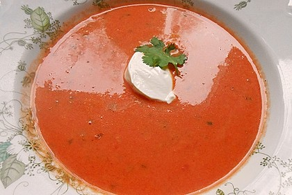 Cremige Tomatensuppe mit Kokosmilch 33