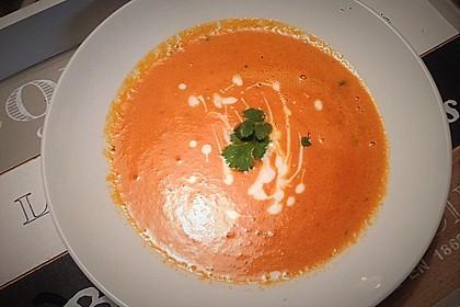 Cremige Tomatensuppe mit Kokosmilch 34