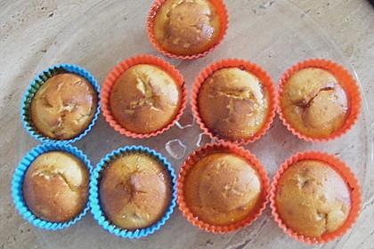 Bananen - Honig - Muffins 12