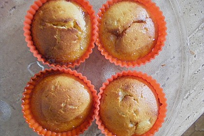 Bananen - Honig - Muffins 12