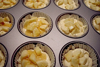 Bananen - Honig - Muffins 14