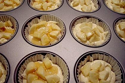 Bananen - Honig - Muffins 14