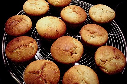 Bananen - Honig - Muffins 5