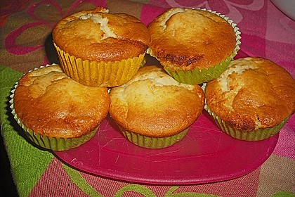 Bananen - Honig - Muffins 3