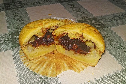 Bananen - Honig - Muffins 8