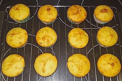 Bananen - Honig - Muffins 4