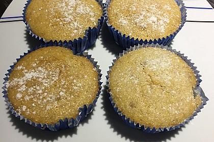 Bananen - Honig - Muffins 1