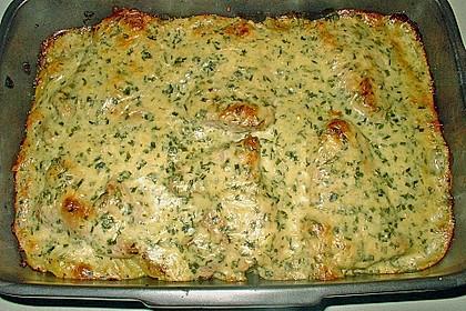 Bratkartoffelauflauf mit Schnitzel 15