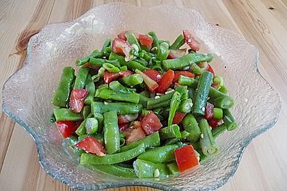 Bohnensalat mit Tomaten und rotem Pesto 2