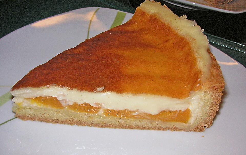 Kuchen mit pfirsich rezept