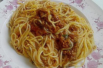 Italienische Hack - Pasta - Sauce 3