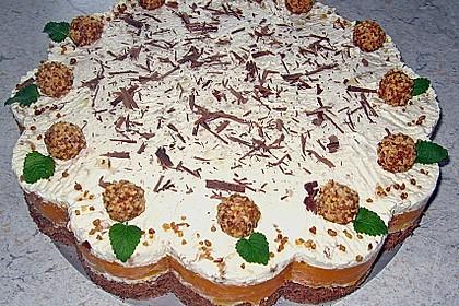 Giotto - Pfirsich - Torte