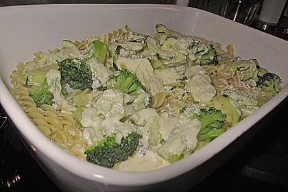 Gemüseauflauf mit Zucchini und Brokkoli 0