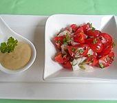 Salatsoße für Tomatensalat