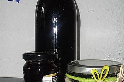Holunderbeeren - Sirup 2