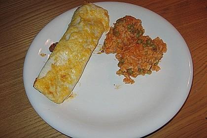Mexikanischer Reis mit Chilis und Erbsen 7