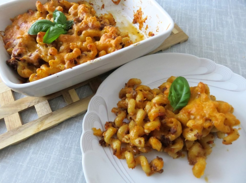 Leichte Sommerküche Chefkoch : Makkaroni auflauf mit hackfleisch auf die leichte tour von