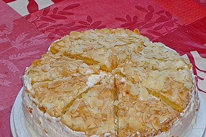 Hansen - Jensen - Torte mit Sauerkirschen 13