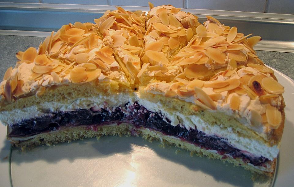 Torte mit sauerkirschen rezept
