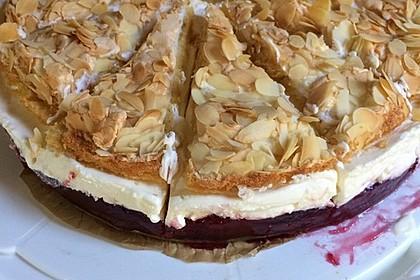 Hansen - Jensen - Torte mit Sauerkirschen 6