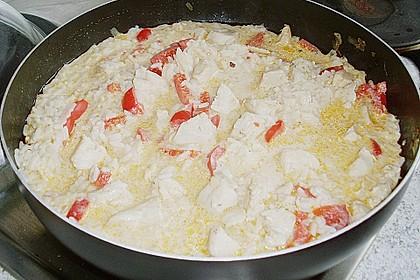 Reispfanne mit Geflügel 1