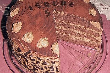 Amaretto - Trüffel - Sahne - Torte