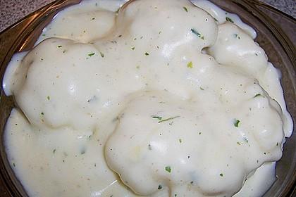 Brokkoli mit Käsesoße 1