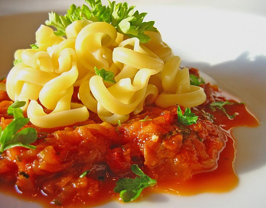 spaghetti mit zucchini bolognese von aerdnagnal. Black Bedroom Furniture Sets. Home Design Ideas