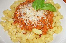 Spaghetti mit Zucchini - Bolognese