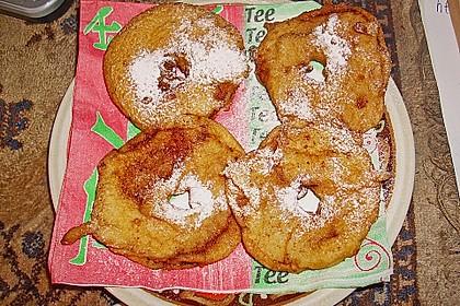 Apfelküchlein mit Zimtzucker 9