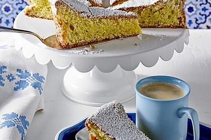 Mallorquinischer Mandelkuchen 1