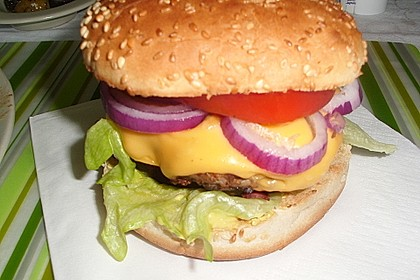 Hamburger de luxe 1