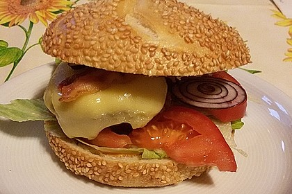 Hamburger de luxe 10