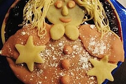 Marzipan - Weihnachts - Torte